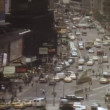Stock Video: High angle view of busy New York City street