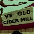 Cartoon of Ye Old Cider Mill — Stock Video #26665499