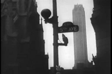 афро-американской пары свинг танцы, 1930-е годы — Стоковое видео