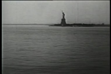 Statua della libertà, new york, new york — Video Stock