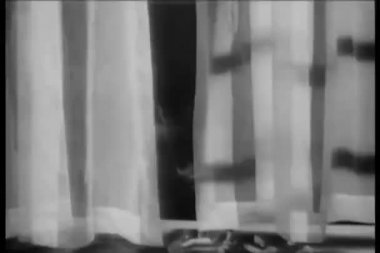 Cigarettes burning on windowsill — Wideo stockowe