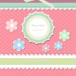 Vintage background for invitation card vector - Stock Vector