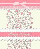 розовый фон для векторных карт день валентина — Cтоковый вектор