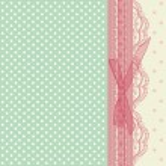 Vintage pink wedding card vector — Stock Vector