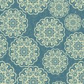 красивые кружева синий бесшовные фон вектор — Cтоковый вектор