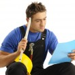 Thoughtful worker — Stock Photo #12564281