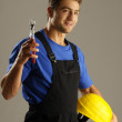 Enthusiastic worker — Stockfoto