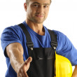 Proud worker — Stockfoto