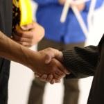 Arbeiten-Vereinbarung — Stockfoto