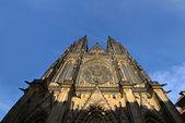 Cattedrale di san vito a praga — Foto Stock