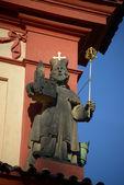 Statue of Boleslav II — Stock Photo