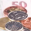 Stock Photo: Coins and Banknotes
