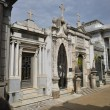 Recoleta Cemetery in Argentina - Stock Photo