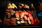 BBQ in Montevideo in Uruguay — Stock Photo