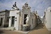 Recoleta friedhof in argentinien — Stockfoto