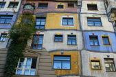 Hundertwasserhouse — Stock Photo