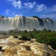 Stock Photo: Iguazu falls, Devils Throat, Garganta del Diablo