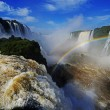 Iguazu falls, Devils Throat, Garganta del Diablo — Stock Photo