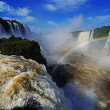 Iguazu falls, Devils Throat, Garganta del Diablo — Stock Photo #29657695