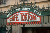 Cafe Tortoni — Stock Photo