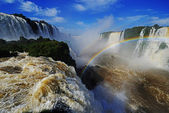 Iguazu falls, Devils Throat, Garganta del Diablo — Photo