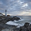Lighthouse in Maine - Foto Stock