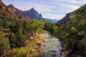 Zion National Park — Foto Stock