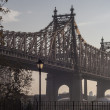 Queensboro Bridge, also known as 59th Street Bridge — Stock Photo #16178369