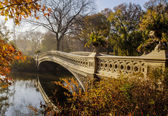 Bow bridge — Stock Photo