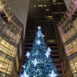 New York City Manhattan Christmas tree — Stock Photo