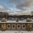 Stock Photo: Central Park, New York City BethesdTerrace