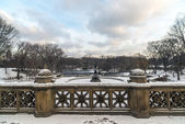 Central Park, New York City Bethesda Terrace — Stock fotografie