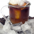 Stock Photo: Iced coffee