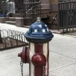 Stock Photo: Fire Hydrant New York City Manhattan