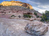 Zion National Park large rock — Stock Photo