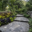Stock Photo: Shakespeare Garden Central Park, New York City