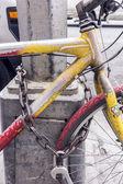 Bicicleta velha — Foto Stock