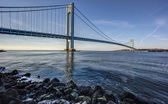 Verrazano Narrows Bridge — Stock Photo