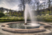The Conservatory Garden — Stock Photo