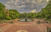 Bethesda Terrace Central Park, New York City — Stock Photo