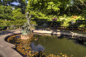The Conservatory Garden Central Park, New York City — Stock Photo