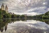 Lake Central Park, New York City — Stock Photo