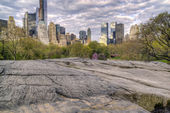 View of Central Park, New York City — Stock Photo