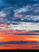 Dramatische skys — Stockfoto