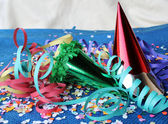 Carnival accessories — Stock Photo