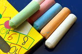 Some chalks — Stock Photo
