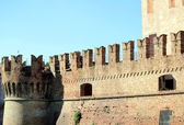 Medieval castle of Fontanellato — Stock Photo