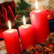 Red candles — Stock Photo #32763063