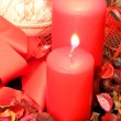 Stok fotoğraf: Red candles