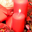 Foto de Stock  : Red candles